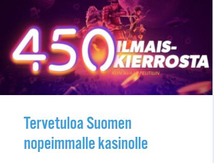 iGame Suomen nopein nettikasino
