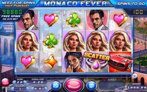 Monaco Fever kolikkopeli